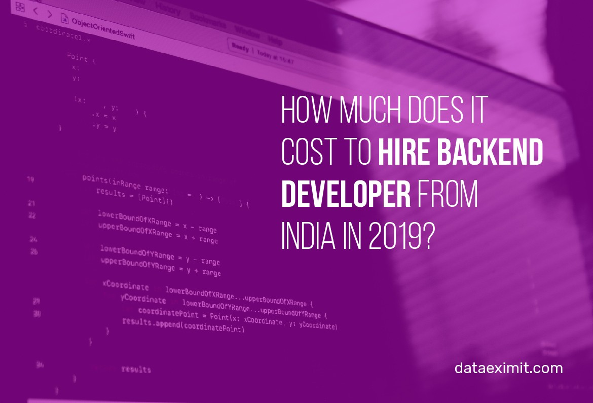 How Much Does It Cost to Hire Backend Developer from India?